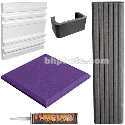 Auralex SFS-184 SonoFlat System (Purple/Charcoal Grey)