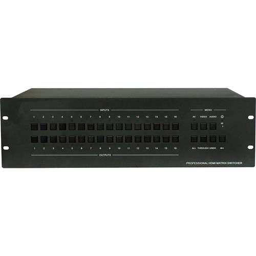 Aurora Multimedia ASP-1616H Matrix Switcher (16 x 16)
