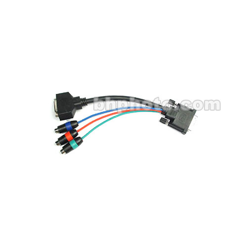 Aurora Multimedia DVI-I to DVI-D & RGB Component Breakout Cable - 6""