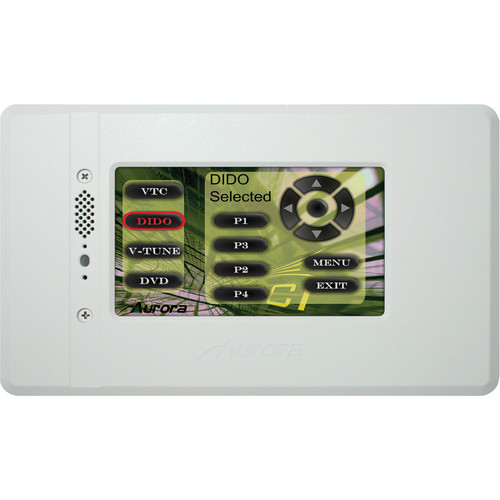 "Aurora Multimedia NXT-470 4.7"" In-Wall Color Touch Panel Controller"