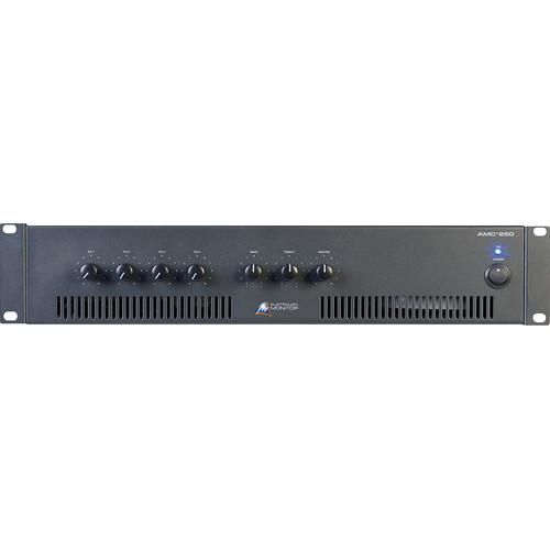 Australian Monitor AMC+250 4 Input Rack Mountable Mixer/Amplifier