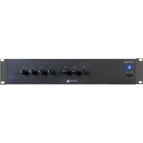 Australian Monitor AMC+60 4 Input Rack Mountable Mixer/Amplifier