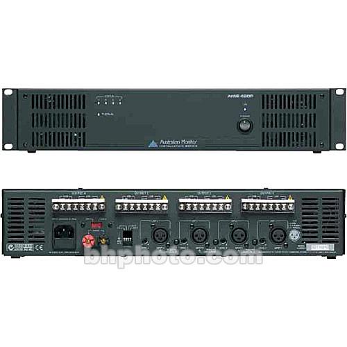 Australian Monitor AMIS480P 4 Channel Power Amplifier (4 x 80W)