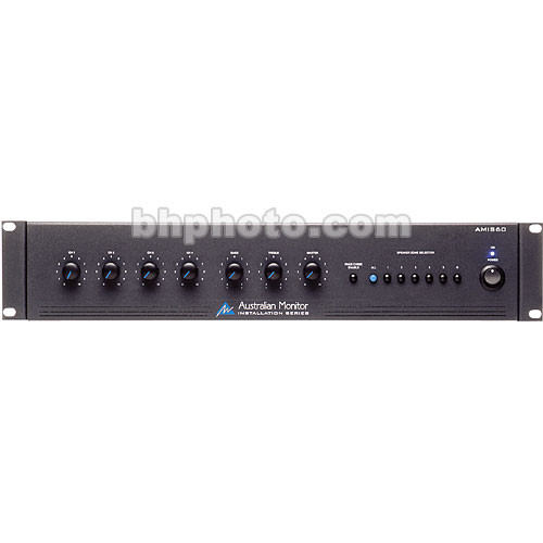 Australian Monitor AMIS60 60 Watt 4-Channel Mixer Amplifier
