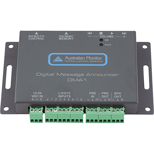 Australian Monitor DMA1 Compact Digital Message Announcer