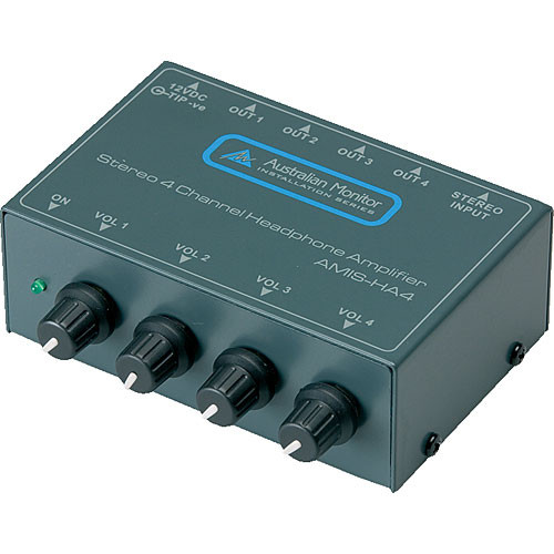 Australian Monitor HA4 4-Channel Stereo Headphone Amplifier