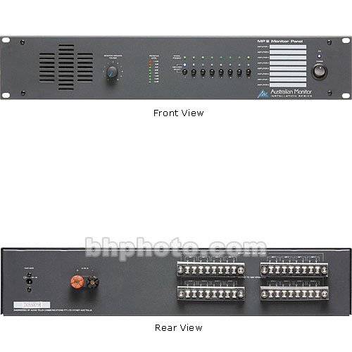 Australian Monitor MP8 8 Channel Monitor Panel