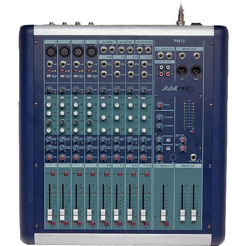 Australian Monitor PM12 8-Channel Recording and Sound Reinforcement Mixer