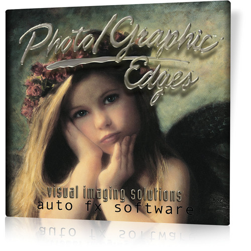 Auto FX Software Photo/Graphic Edges 7.0 Platinum Edition f/ Windows 64-bit