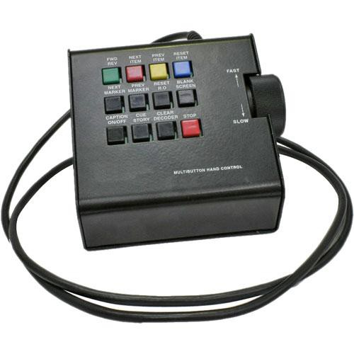 Autocue/QTV Multi-Button Hand Control