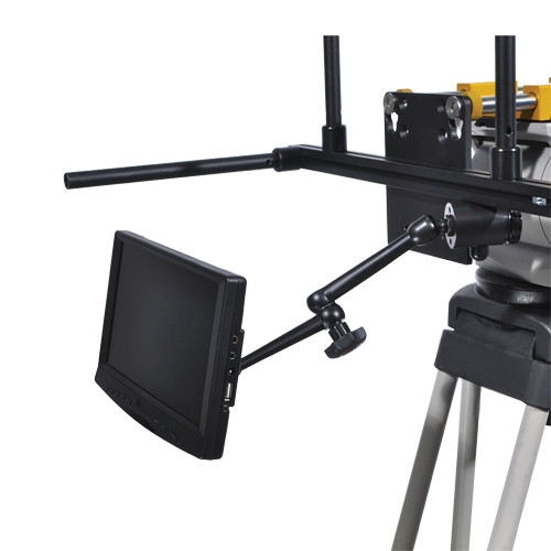"Autocue/QTV 9"" Talent Feedback Monitor and Mounting Arm"