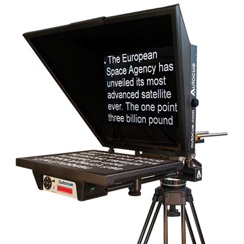 "Autocue/QTV Master Series 17"" Teleprompter"