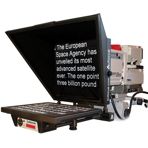 "Autocue/QTV Master Series 20"" Teleprompter with 7.5"" Short Rod"