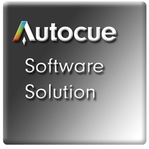 Autocue/QTV QStart Teleprompting Software for Mac