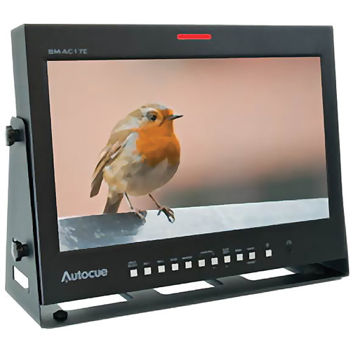 """Autocue/QTV Autocue E-Series 17"""" LCD Broadcast/Production Monitor"""
