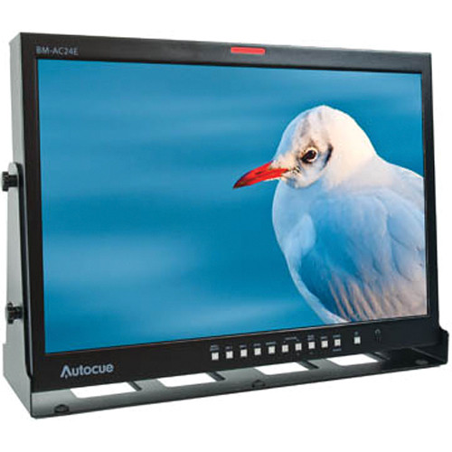 "Autocue/QTV E-Series 24"" LCD Broadcast/Production Monitor"