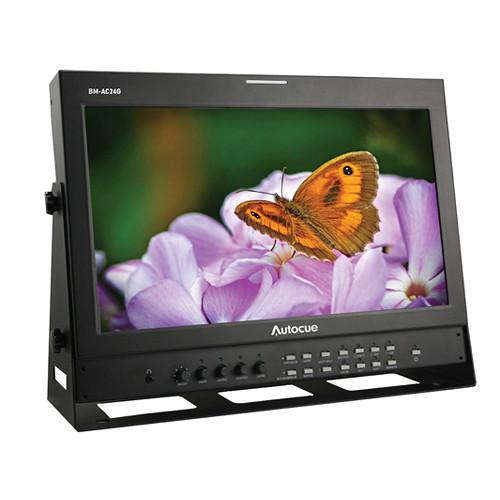 "Autocue/QTV 24"" 3G-SDI Studio Broadcast Monitor"