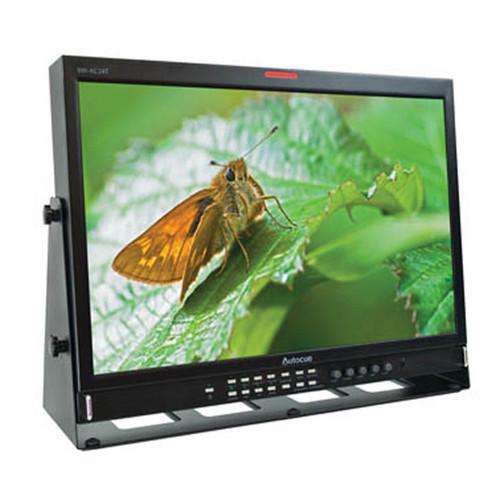 "Autocue/QTV 24"" LED Backlit 3G Grade ""A"" Monitor"