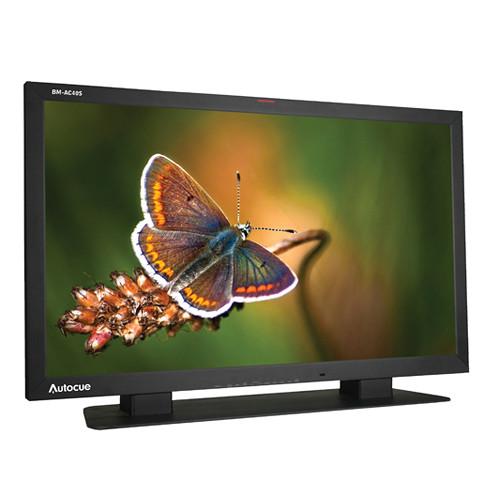 """Autocue/QTV 40"""" LCD Multi-Format HD Broadcast Monitor"""