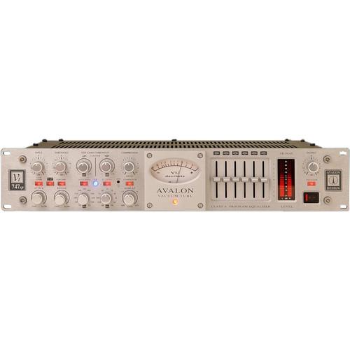 Avalon Design Vt-747sp Stereo Tube Compressor / 6-Band EQ (Silver)