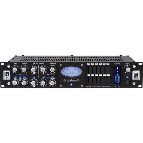 Avalon Design Vt-747sp Stereo Tube Compressor / 6-Band EQ (Black)