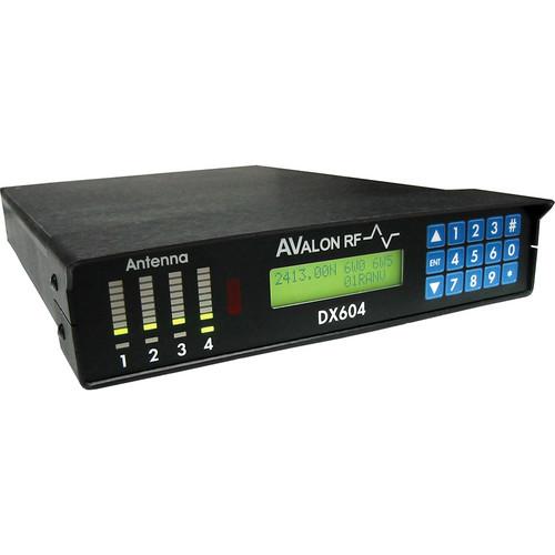 Avalon RF DX504 4- Antenna True Diversity Receiver