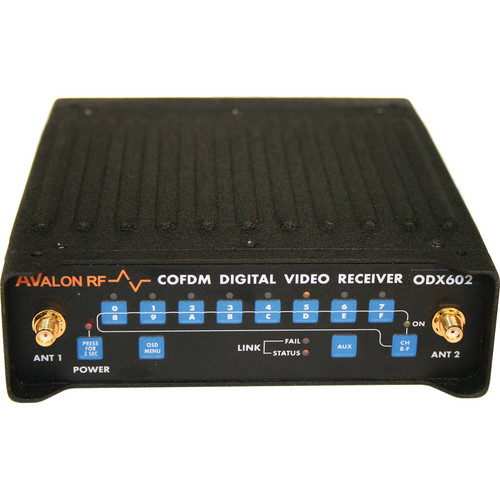 Avalon RF ODX502 COFDM Diversity Digital Video Receiver