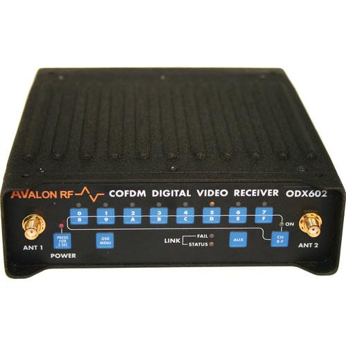 Avalon RF ODX502 COFDM Diversity Digital Video Receiver