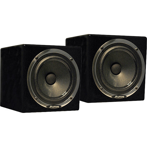 Avantone Pro Active MixCube Powered Full-Range Mini Reference Monitors (Black)