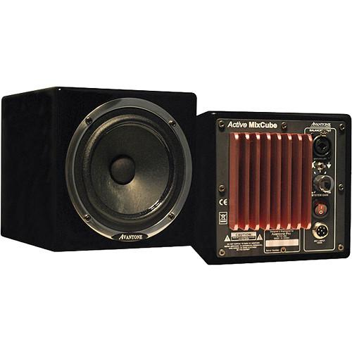Avantone Pro Active MixCube Powered Full-Range Mini Reference Monitors (Black) - Single