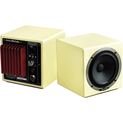 Avantone Pro Active MixCube Powered Full-Range Mini Reference Monitors (Retro-Cream) - Single