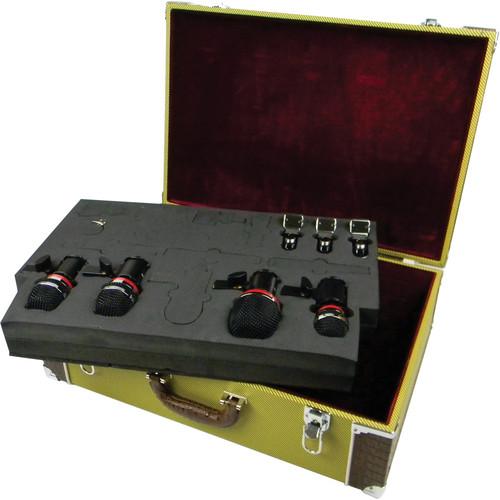 Avantone Pro CDMK4 4-Mic Drum Microphone Kit