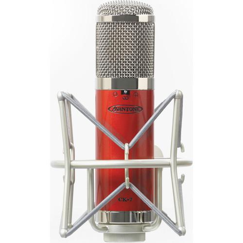 Avantone Pro CK-7 Large Capsule Multi-Pattern FET Condenser Microphone