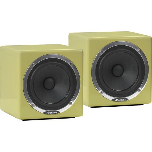 Avantone Pro Avantone MixCubes Full-Range Mini Reference Monitors (Retro-Cream)