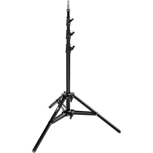 Avenger Baby Alu Stand 25 with Leveling Leg (Black, 8.2')