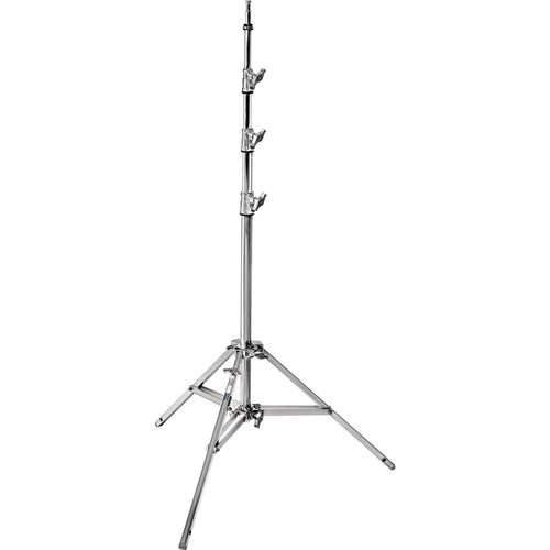 Avenger Baby Alu Stand 30 with Leveling Leg (Chrome-plated, 9.8')