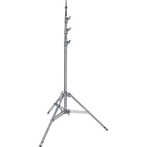 Avenger Baby Steel Stand 35 with Leveling Leg (Chrome-plated, 11.5')