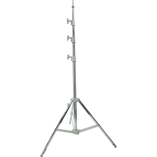 Avenger Baby Steel Stand 40 with Leveling Leg (Chrome-plated, 13')