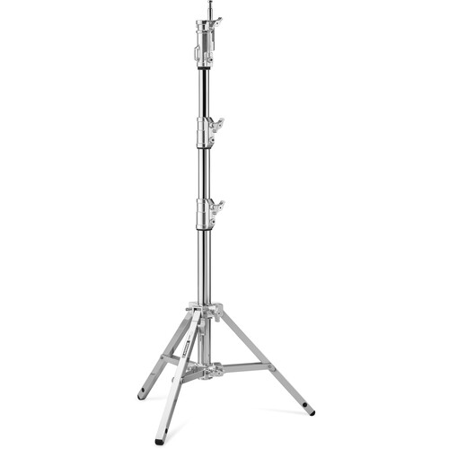 Avenger Combo Steel Stand 20 with Leveling Leg (Chrome-plated, 6.5')