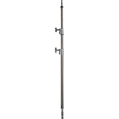 """Avenger A2020 30"""" Double Riser 6.75' Column for C-Stand (Chrome-plated)"""