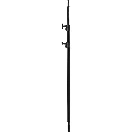 "Avenger A2029CB 40"" Double Riser 9.3' Column for C-Stand (Black)"
