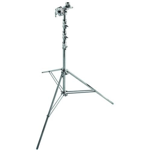 Avenger Overhead Steel Stand 56 with Leveling Leg (Chrome-plated, 18.3')