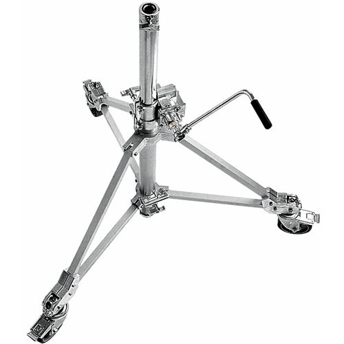 Avenger Strato Safe 18 Stand with Braked Wheels (Chrome-plated, 5.7')