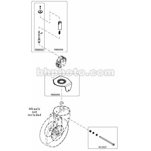 Avenger B9000T Wheel Tracking Retrofit Set