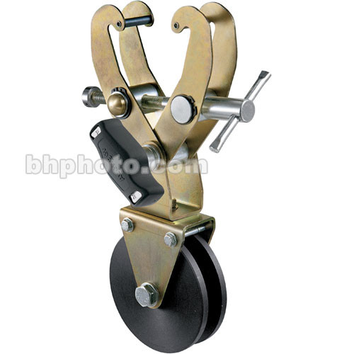Avenger C339JS Grab Clamp with Spinning Pulley