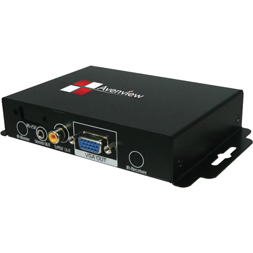 Avenview VGA-C5A-R VGA & Audio Receiver Set over Single CAT5