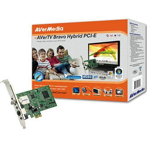 AVerMedia AVerTV Bravo Hybrid PCI Express TV Tuner