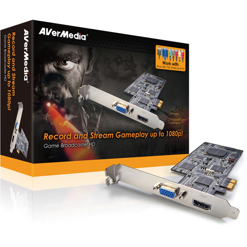 AVerMedia Game Broadcaster HD Video Capture Card