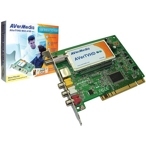 AVerMedia AVerTVHD MCE A180 PCI ATSC HDTV Tuner Card for Windows