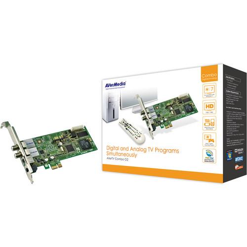 AVerMedia AVerTV Combo G2 PCIe TV Tuner